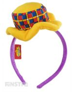With Henry's tartan top hat attached, the Henry headband makes a great accessory to complete your Henry the Octopus costume.