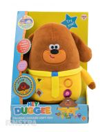 Isn't it time for a Duggee Hug? Talking Huggee Duggee is super soft and huggable, ready for lots of hugs and cuddles.