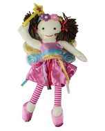 With wand in hand, Jemima is a fairy wearing her beautiful costume with wings.