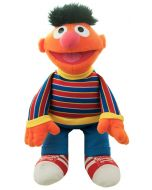 The lovable and huggable Ernie doll from the Sesame Street GUND plushy collection is a practical-joking and extroverted muppet, and will surely brighten any day!