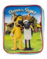 Bitzer and Shaun stand in front of the Mossy Bottom farmhouse on this insulated cooler bag, for a happy meal that's cool and fresh.
