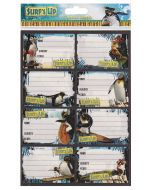 Surfs Up Stickers Book Labels