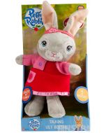 Lily Bobtail says, 'Brilliant!', 'Just in case pocket, just in case!', 'Not bad for a rabbit! Huh!?!', 'You need a big hug!' and giggles.