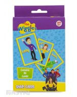 Join the Wiggles in this fun game of Snap with 36 playing cards.
