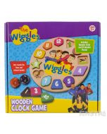 Learning to tell the time is lots of fun with Emma, Lachy, Simon and Anthony and the wooden toy clock!