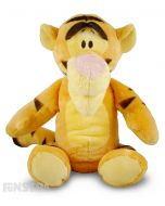 Soft and cuddly Disney Baby plush toy of Tigger with rattle to entertain babies.